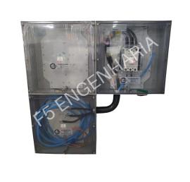 PADRÃO ELEKTRO para 1 Medidor Trifásico - Categoria T3 - POLICARBONATO Cod: 3420