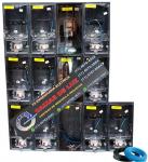 Centro de Medição ENEL 26 Medidores Policarbonato Montado - kit Completo Cod: 3764