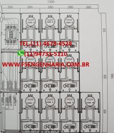 PROJETO ELÉTRICO PARA 10 MEDIDORES Cod:112