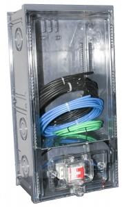 Caixa de Luz 1 Medidor CPFL Policarbonato Completa