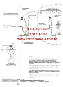 ART DE COLUNA DE CONCRETO E FACHADA ELEKTRO 200 DAN Cod: COL