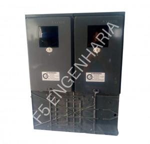CAIXA DE LUZ 2 MEDIDORES ENEL PP Cod: 5062