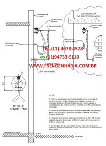 ART DE COLUNA DE CONCRETO E FACHADA CPFL 200 DAN Cod: COL