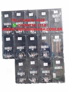 Centro de Medição 12 Medidores CPFL Policarbonato Montado - kit Completo Cod:3803