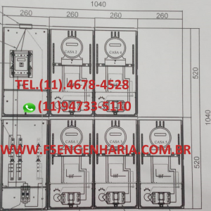 PROJETO ELÉTRICO 5 ENEL Cod: 107
