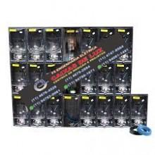 Centro de Medição ENEL 30 Medidores Policarbonato Montado - kit Completo Cod:3769