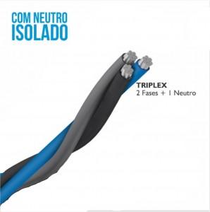 CABO TRIPLEX AL XLPE FRN CA 2X35 35 PR CZ MTS